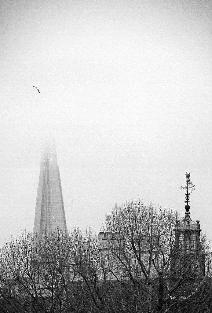 Lambeth Palace & The Shard London uk