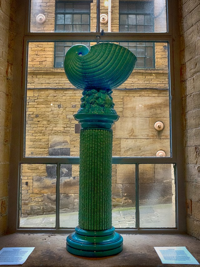 A Tall Vase in the Window