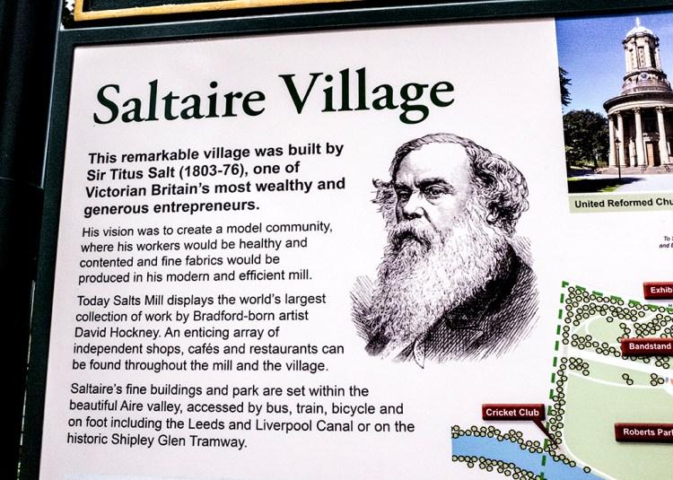 Sir Titus Salt Saltaire salts Mill