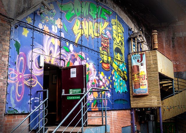 Zombie Shack Castlefield Manchester club