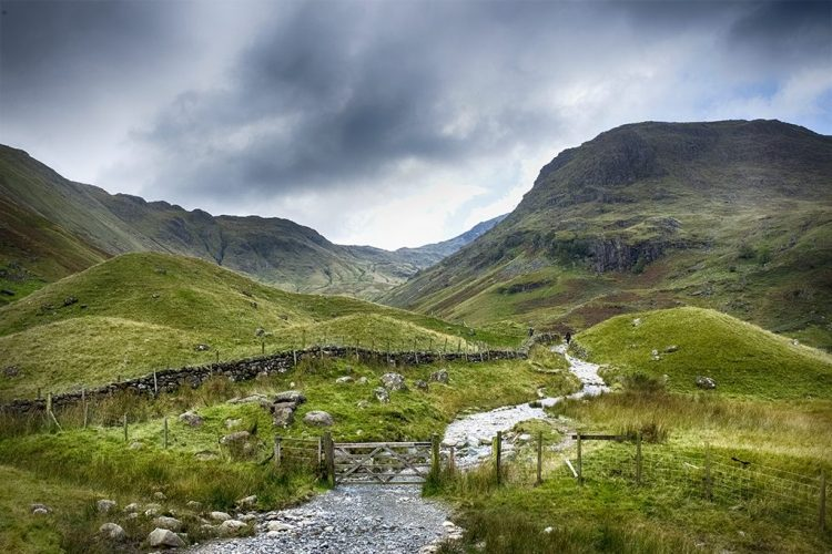 Into the Hills Borrowdale valley lake District