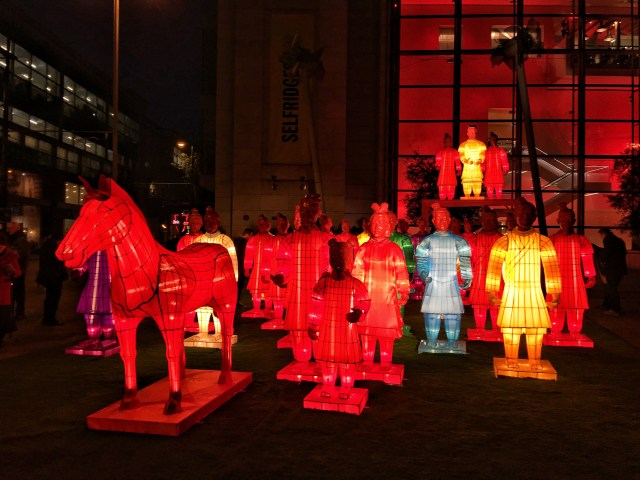 Lanterns of the Terracotta Warriors Chinese New Year Rooster