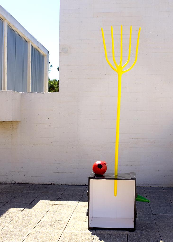 Yellow Fork Miro Fundación Barcelona