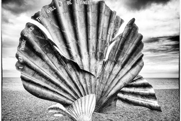 The Scallop on Aldeburgh Beach Maggi Hambling Benjamin Britten