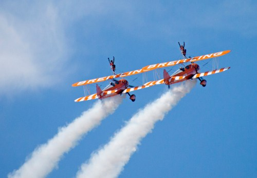 Breitlind Plane Blackpool air show magnificent men flying machines