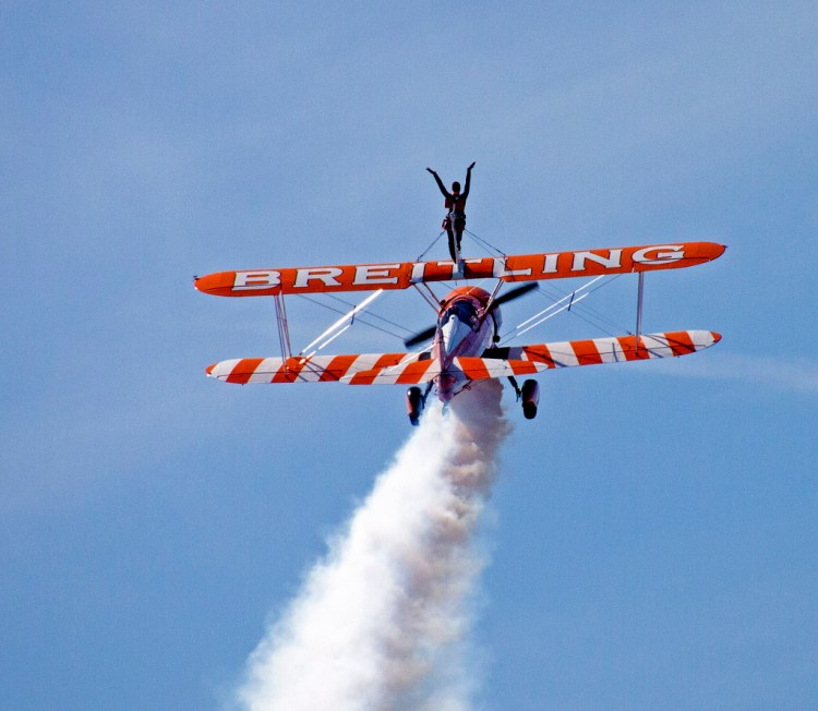 Breitling Aerial Acrobatics Blackpool air show