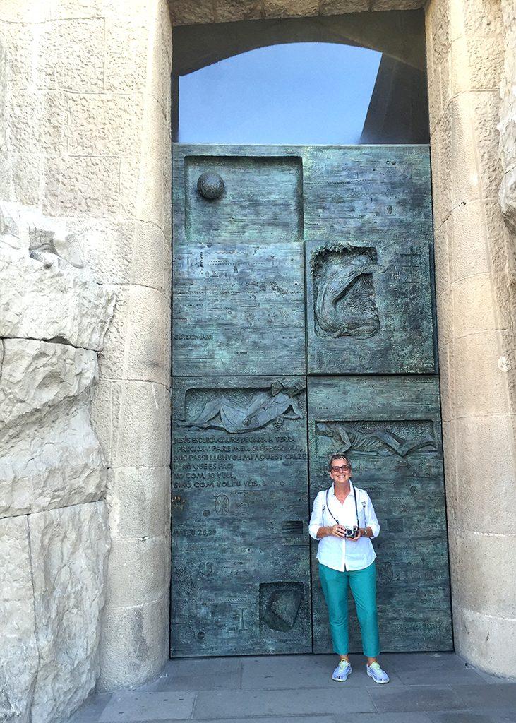 mini-me door Barcelona Sagrada familia