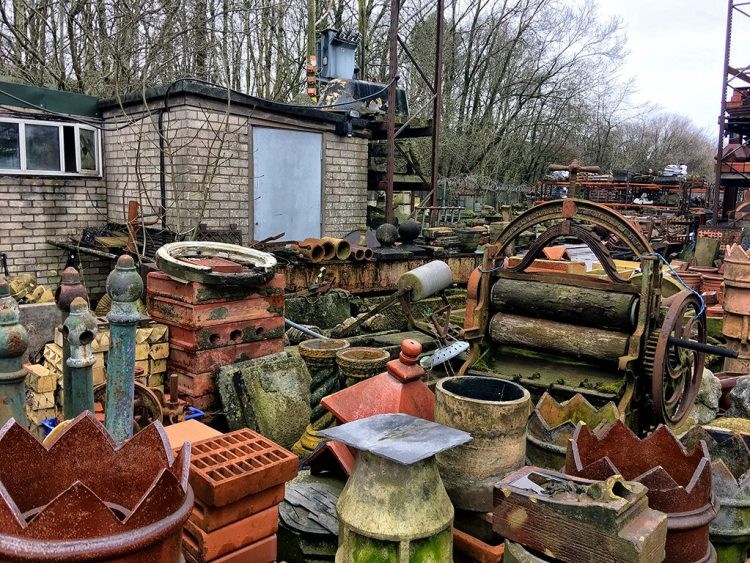 Assorted Clutter salvage yard Victorian