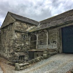 16th century Townend Barn in Troutbeck Lake District