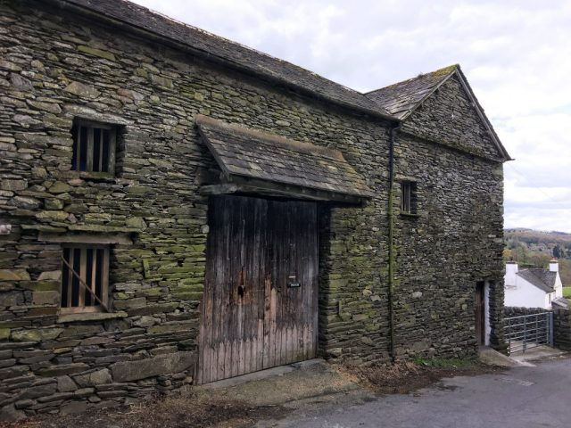 18th Century Barn Townend Barn Troutbeck Lake District Cumbria