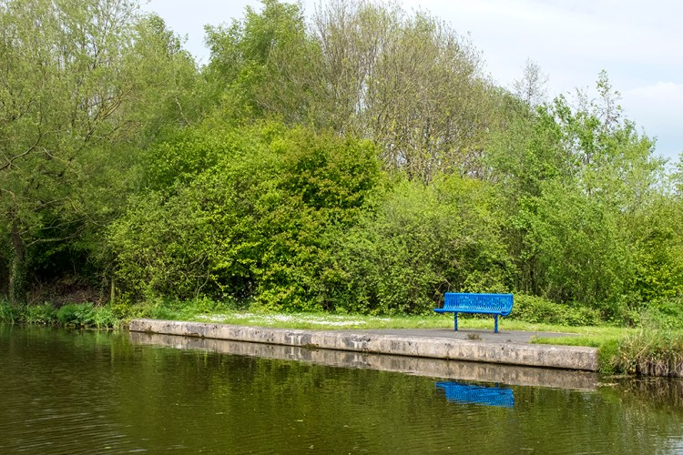 Blue Seat Towpath Lancaster Canal Preston