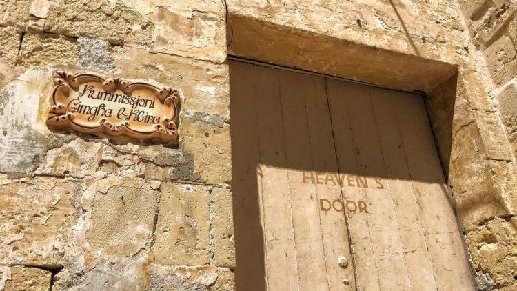 Heaven's Door ilBirgu three Cities Malta valletta monochrome