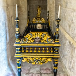 Carmelite Priory: The Bier Mdina Malta oddsball