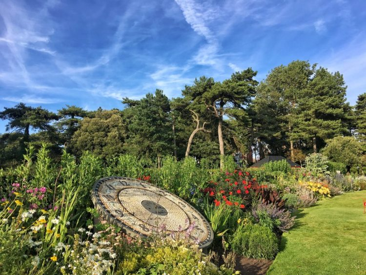 Lowther Gardens clock wordless wednesday snapped iphone6sPlus