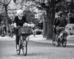 AMSTERDAM: Pedalling in Vondelpark pedal power