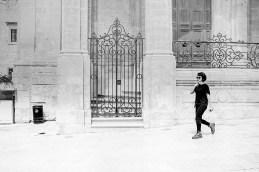StreetLife: Pedestrians 5 Valletta minimalist monochrome