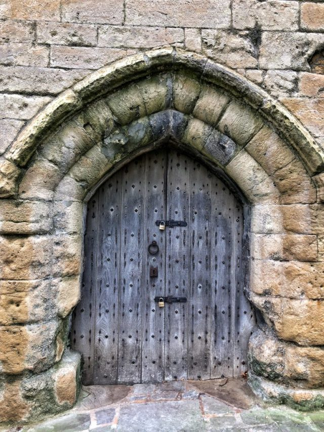 KNARESBOROUGH: Castle doors