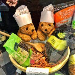 Too many Cooks teddy bears baking