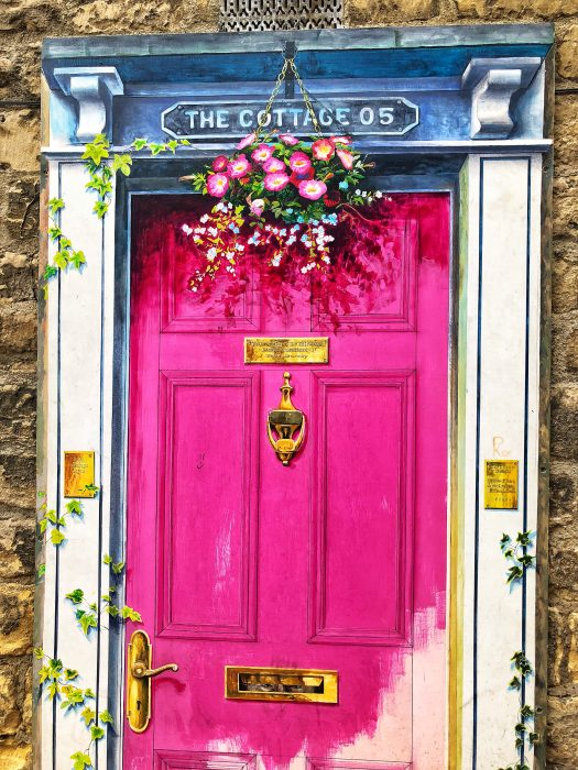 Knaresborough: An Illusory Pink Door