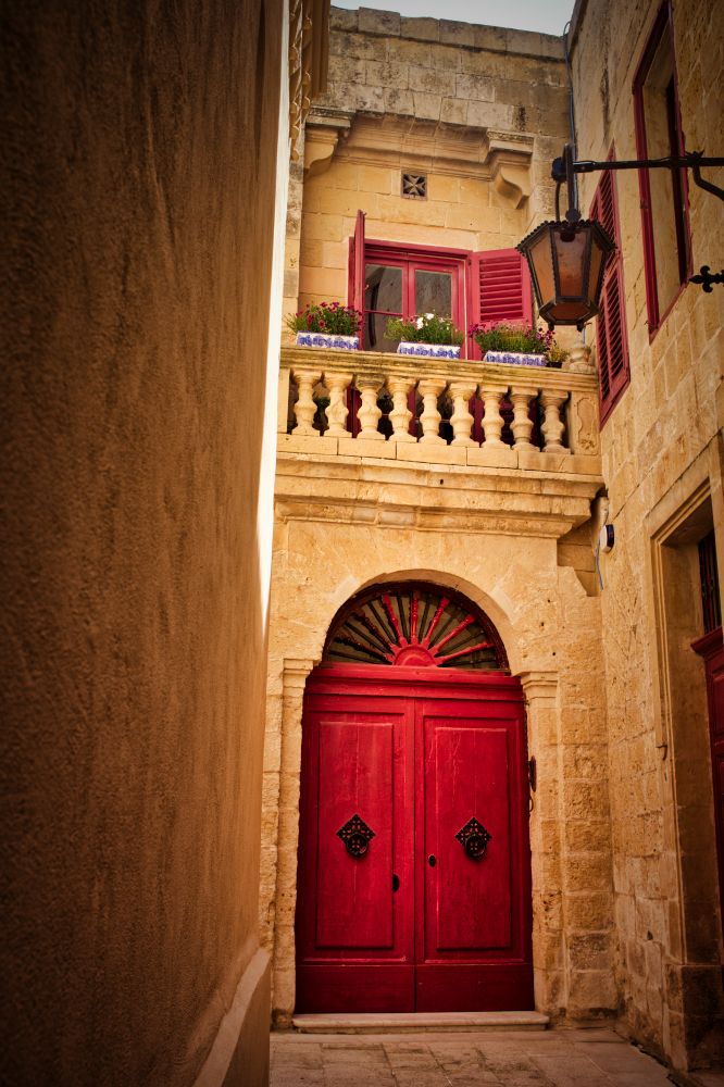 Mdina: Typical House malta thursday doors