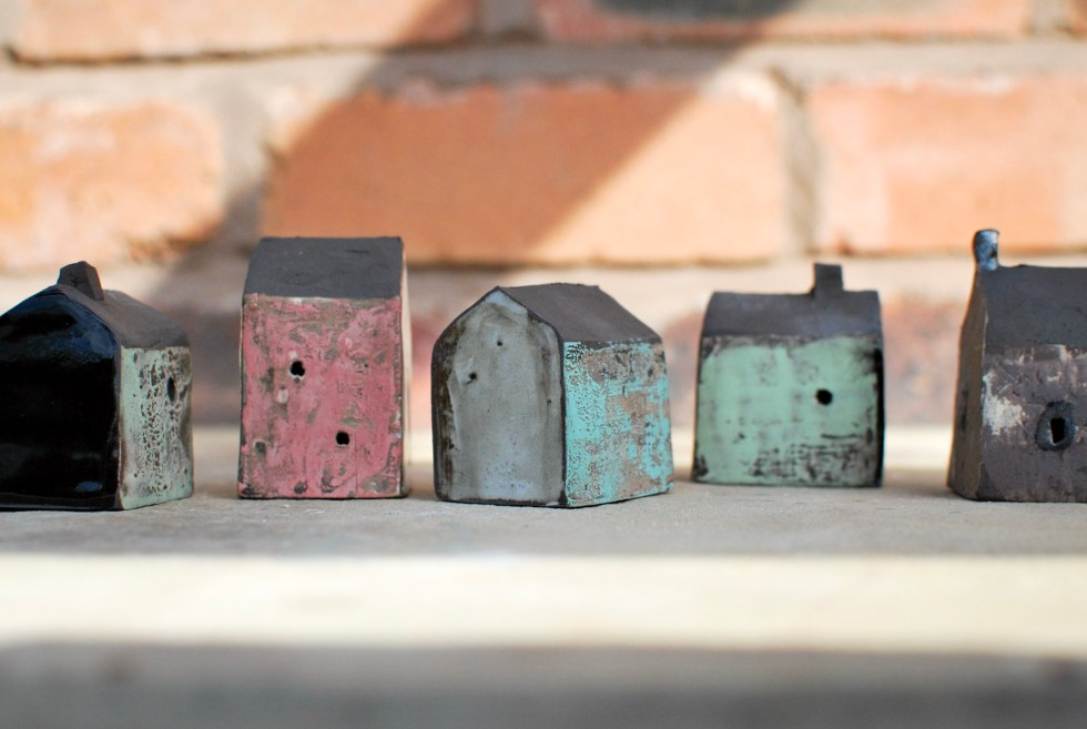Ceramic Sculptural Houses