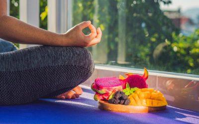Quand le yoga fait sa place à table!