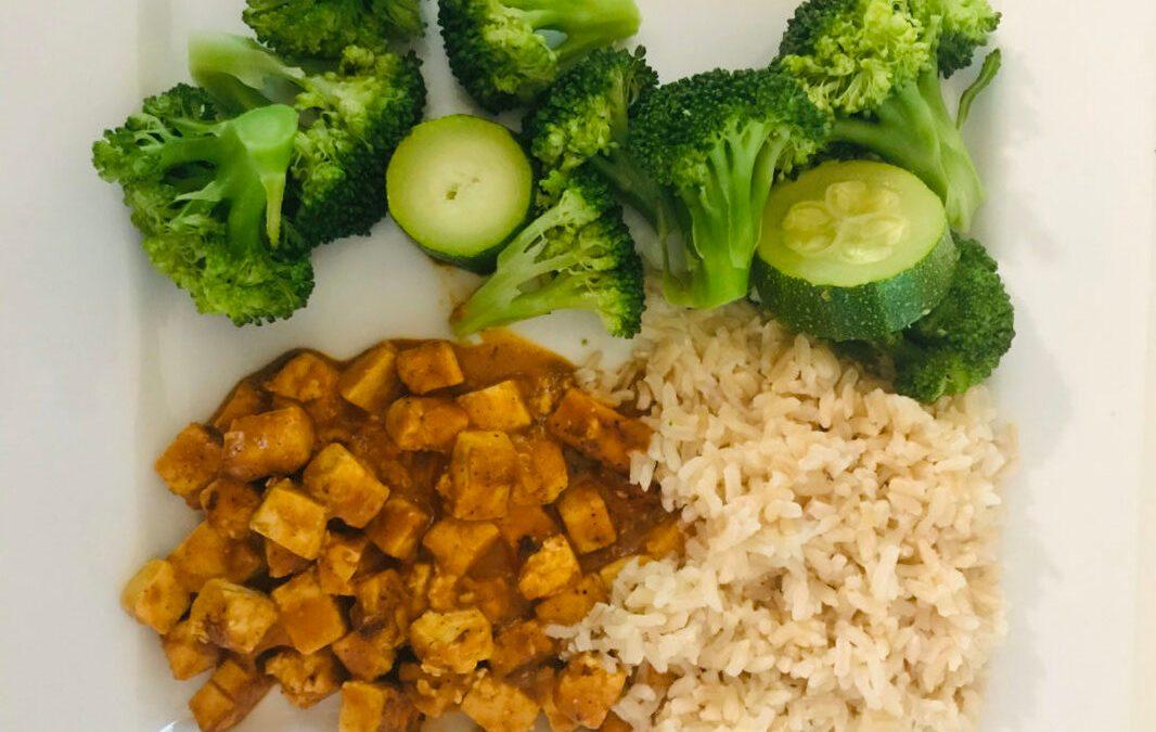 Tofu au beurre express