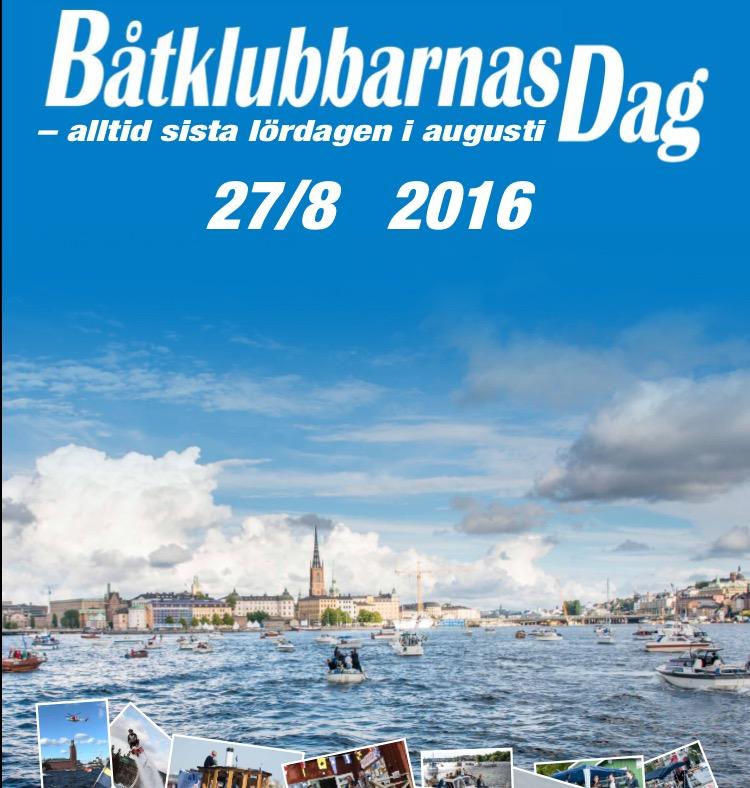 Båtklubbarnas dag 2016