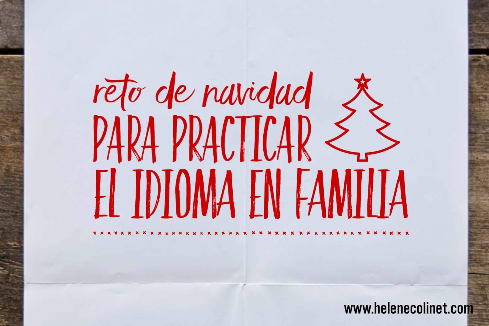 reto navidad helene colinet recursos profesores idiomas tprs españa