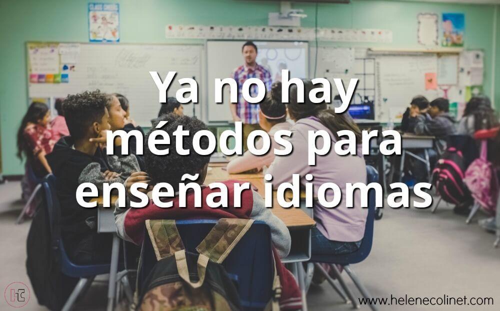 métodos enseñar idiomas helene colinet recursos profesores idiomas tprs ci españa