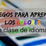 2 juegos para aprender los colores