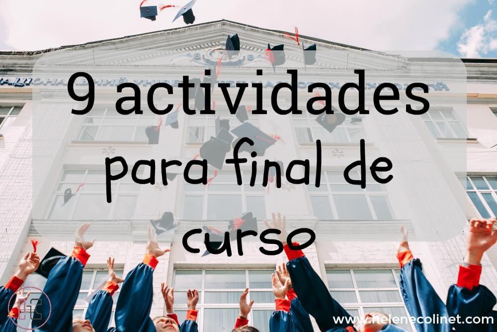 9 actividades final curso helene colinet recursos profesores idiomas tprs ci