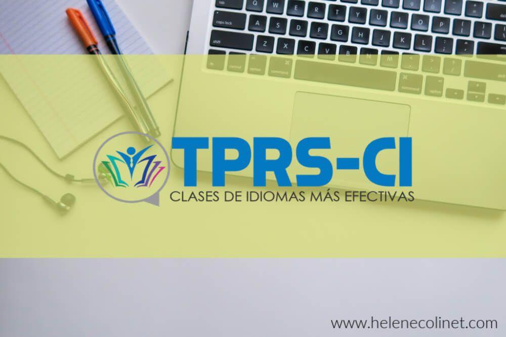 curso online TPRS helene colinet recursos profesores idiomas