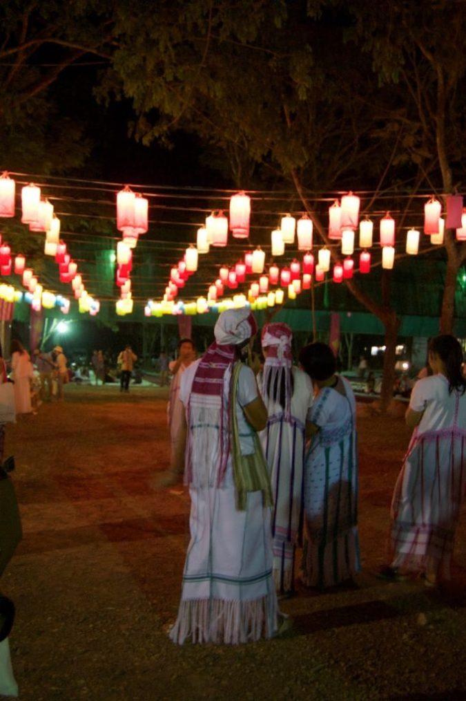 Mae Jo University for Yi Peng Lantern Festival Thailand