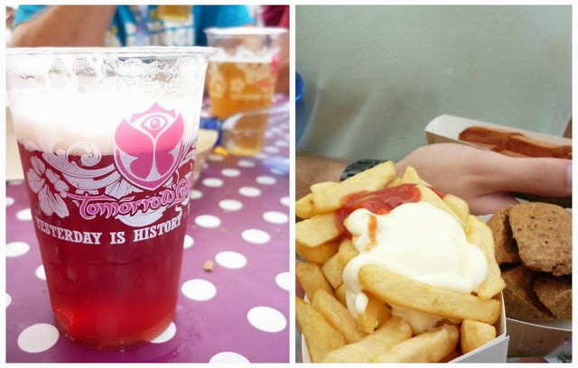 Food and Drink at Tomorrowland