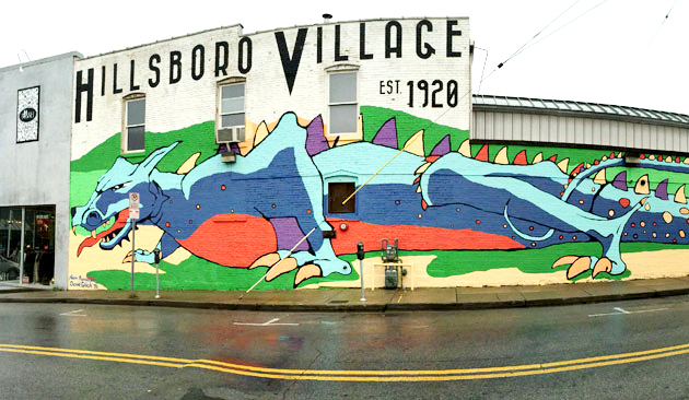 Nashville Dragon Mural