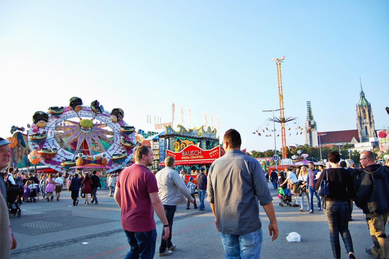 Festival Rides Oktoberfest