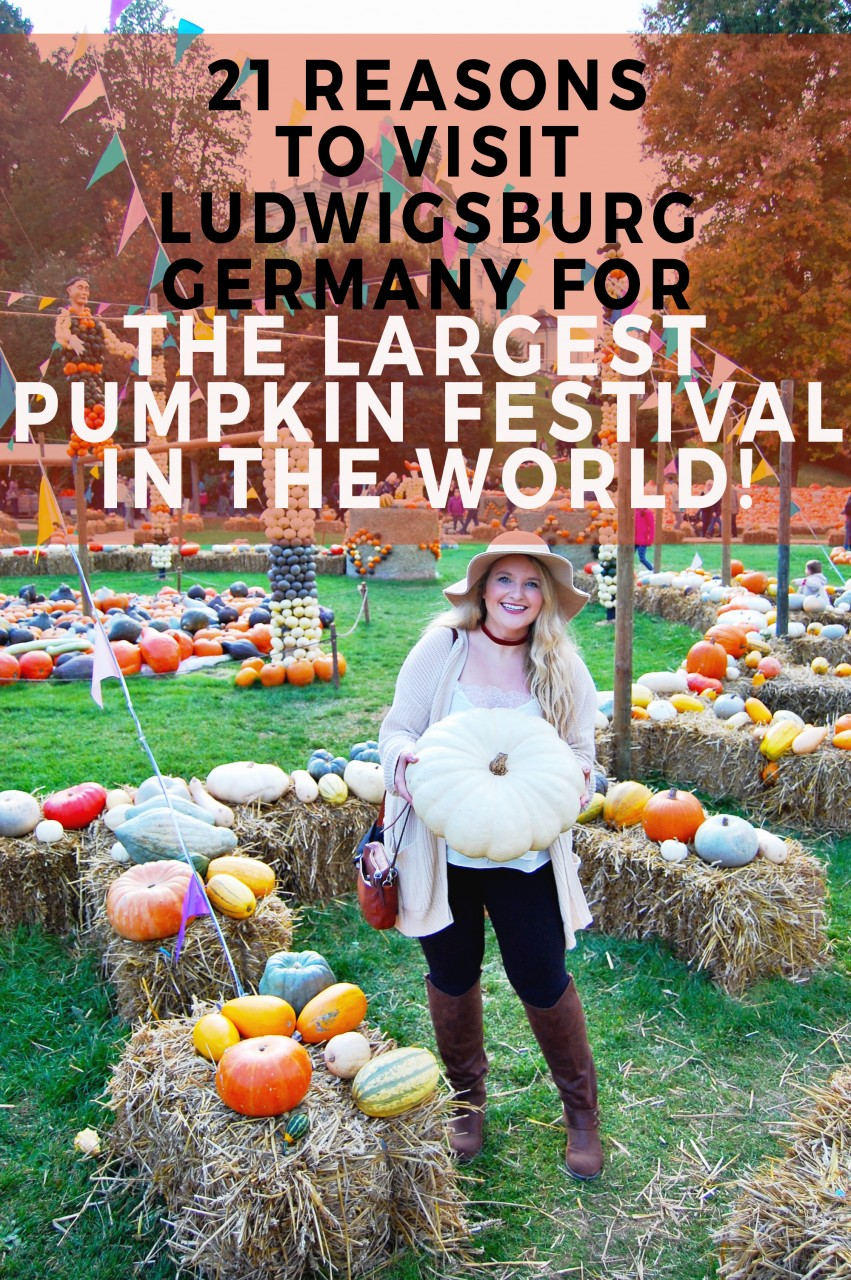 21 Reasons to visit ludwigsBurg Germany For the Largest Pumpkin Festival in the world!