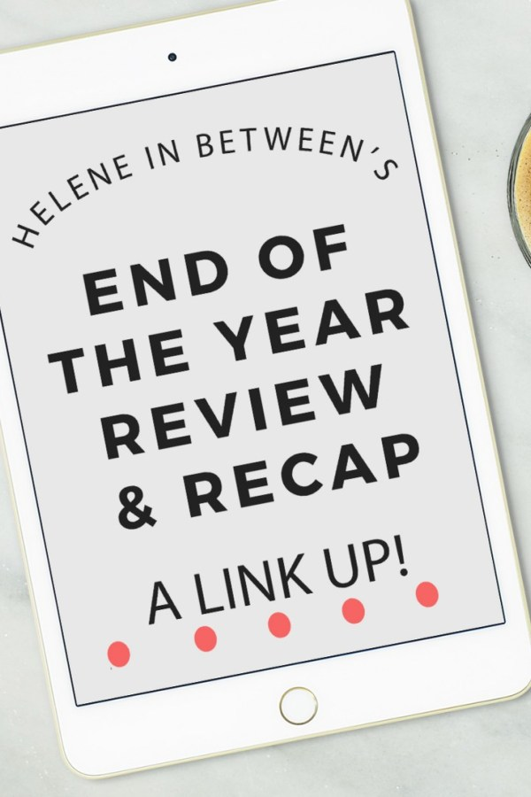 Helene's Best of 2016 (Link up!)
