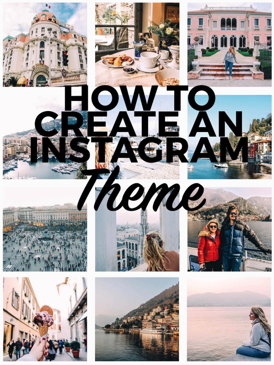 How to Create An Instagram Theme (And Why You Should)