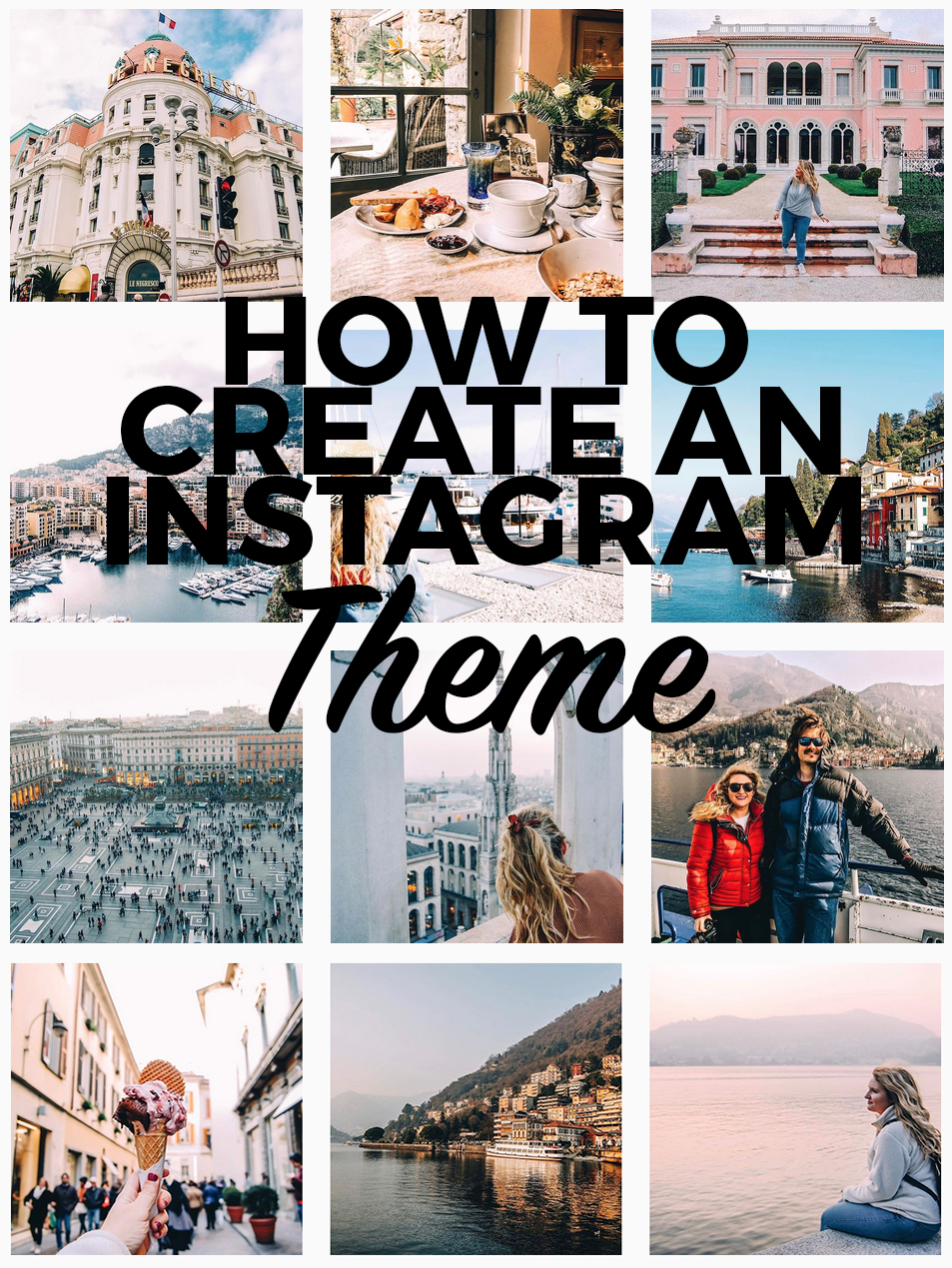 How To Create An Instagram Theme (And Why You Should