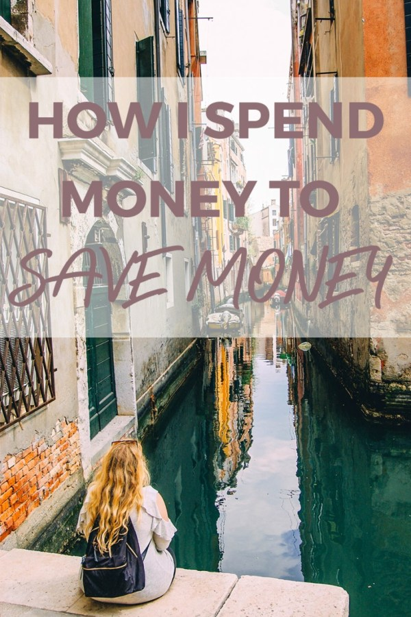 How to Spend Money to Save Money