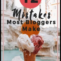 12 Mistakes Most Bloggers Make