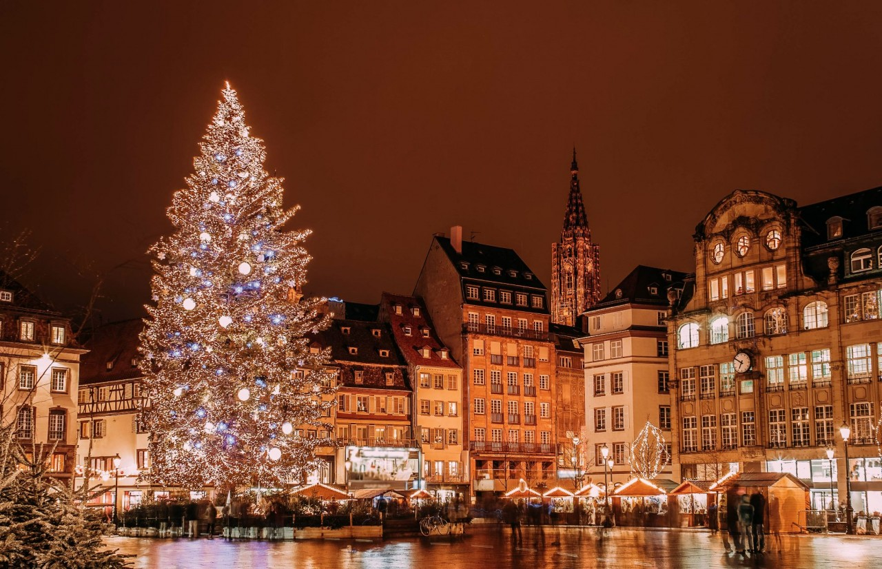 Strasbourg Is On The Border Of France And Germany And