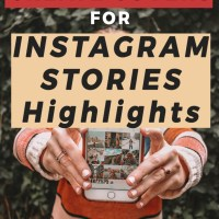 How to Create Covers for Instagram Stories Highlights
