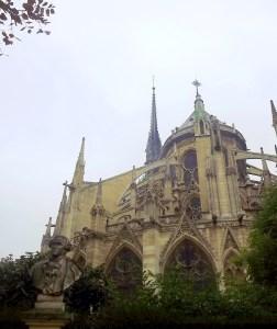 Paris day 1 Notre dame 4