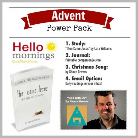 HelloMornings Advent Power Pack 2014