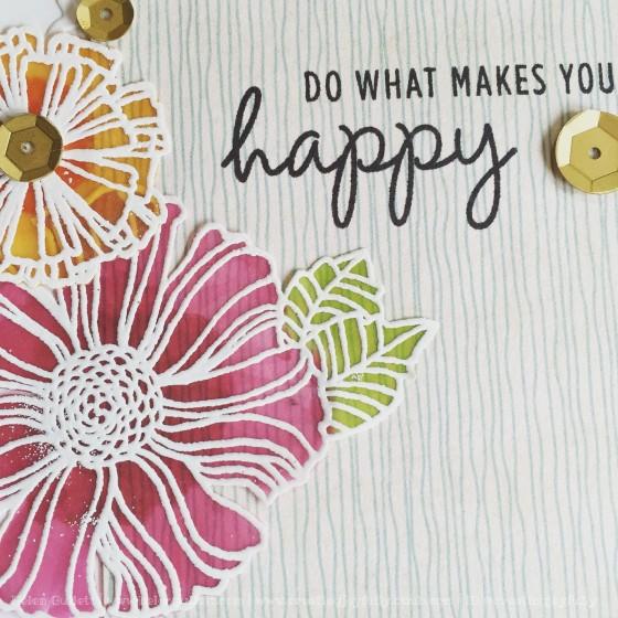 Wavy Bloom Card 2