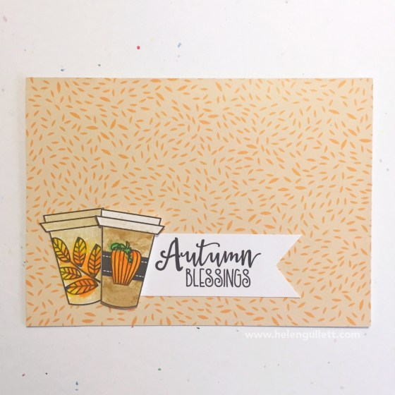 Sending Latte Love Cards | Free Digi Stamp from Verve Stamps | www.helengullett.com #fallclh #handmadecard #cardmaking #vervestamps #digistamp #creatingjoyfully