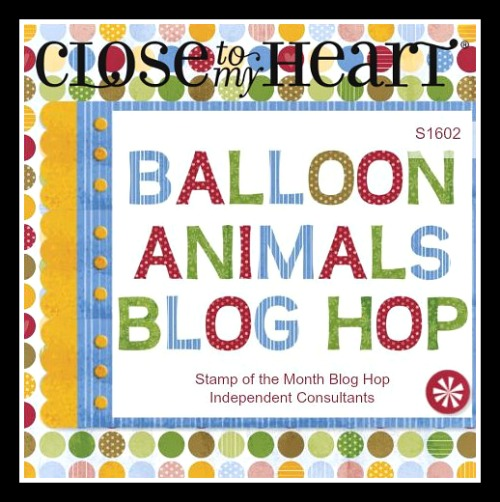 CTMH February 2016 SOTM - Balloon Animals (S1602)